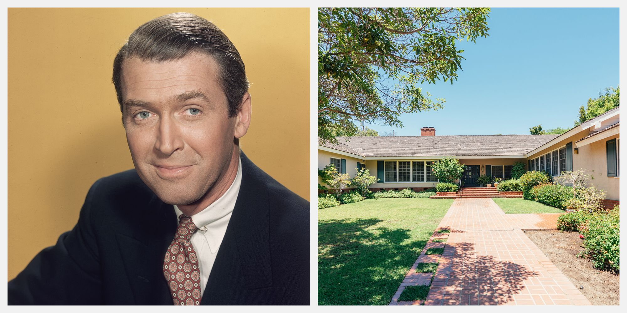 Actor Jimmy Stewart's Brentwood Bachelor Pad Just Sold for the First Time in 60 Years