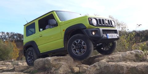 2020 Suzuki Jimny One Of The Best Non-US Off-Roaders >> The New Suzuki Jimny Is A Seriously Capable Off Roader