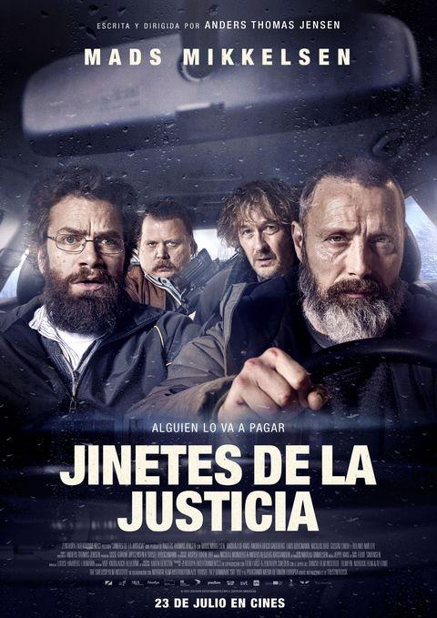 """cartel de """"jinetes de la justicia"""""""