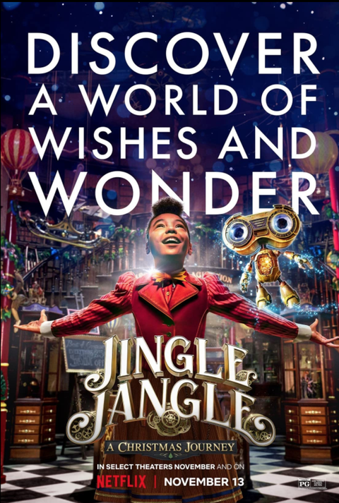 jingle jangle movie poster