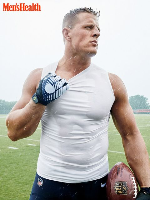 jj watt in the rain