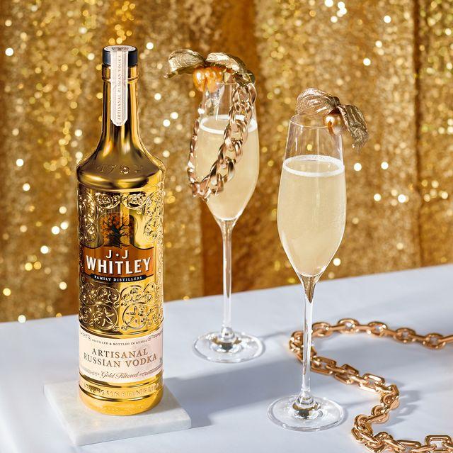 jj whitley vodka gold bottle