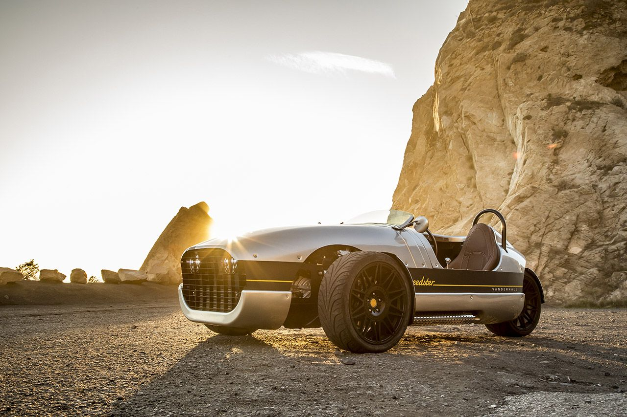 The Vanderhall Venice Speedster is as Much Fun as You Can Have on Three Wheels