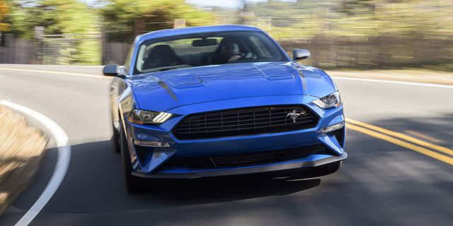 high performance package adds mustang gt brakes, and gt performance package aerodynamics and suspension components to make it the highest performing production four cylinder mustang ever