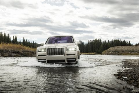The Rolls-Royce Cullinan Is Spectacular