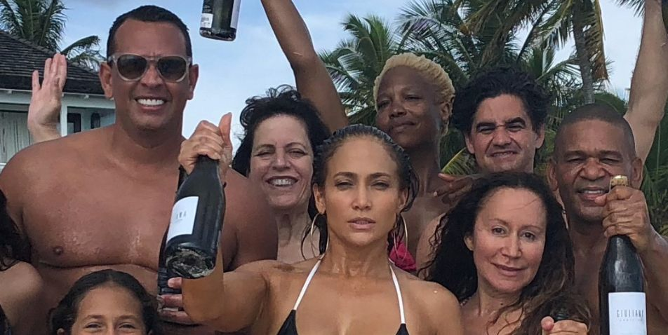 Jennifer Lopez Posted Another 49th Birthday Abs Picture