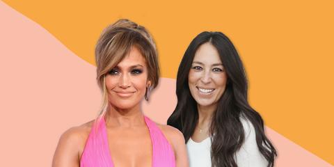 Jennifer Lopez and Joanna Gaines