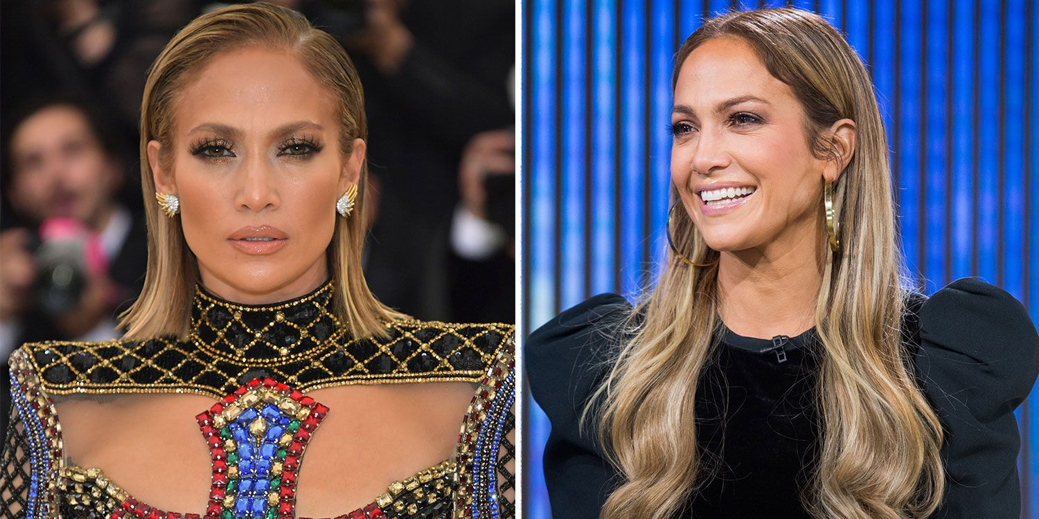 Jennifer Lopez J. Lo always rules the red carpet, but you never know what you're going to get. Sometimes she goes for bold look and other times she opts for a more natural glow.