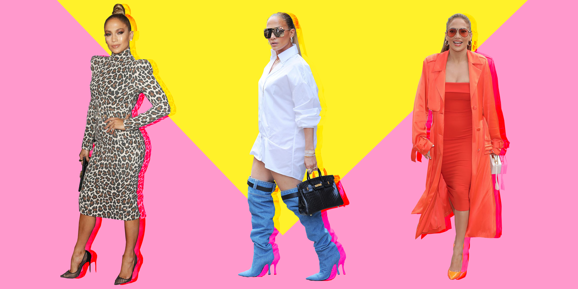 2a55510aa373 J. Lo's Most Perfect Fashion Moments - Best Jennifer Lopez Outfits ...