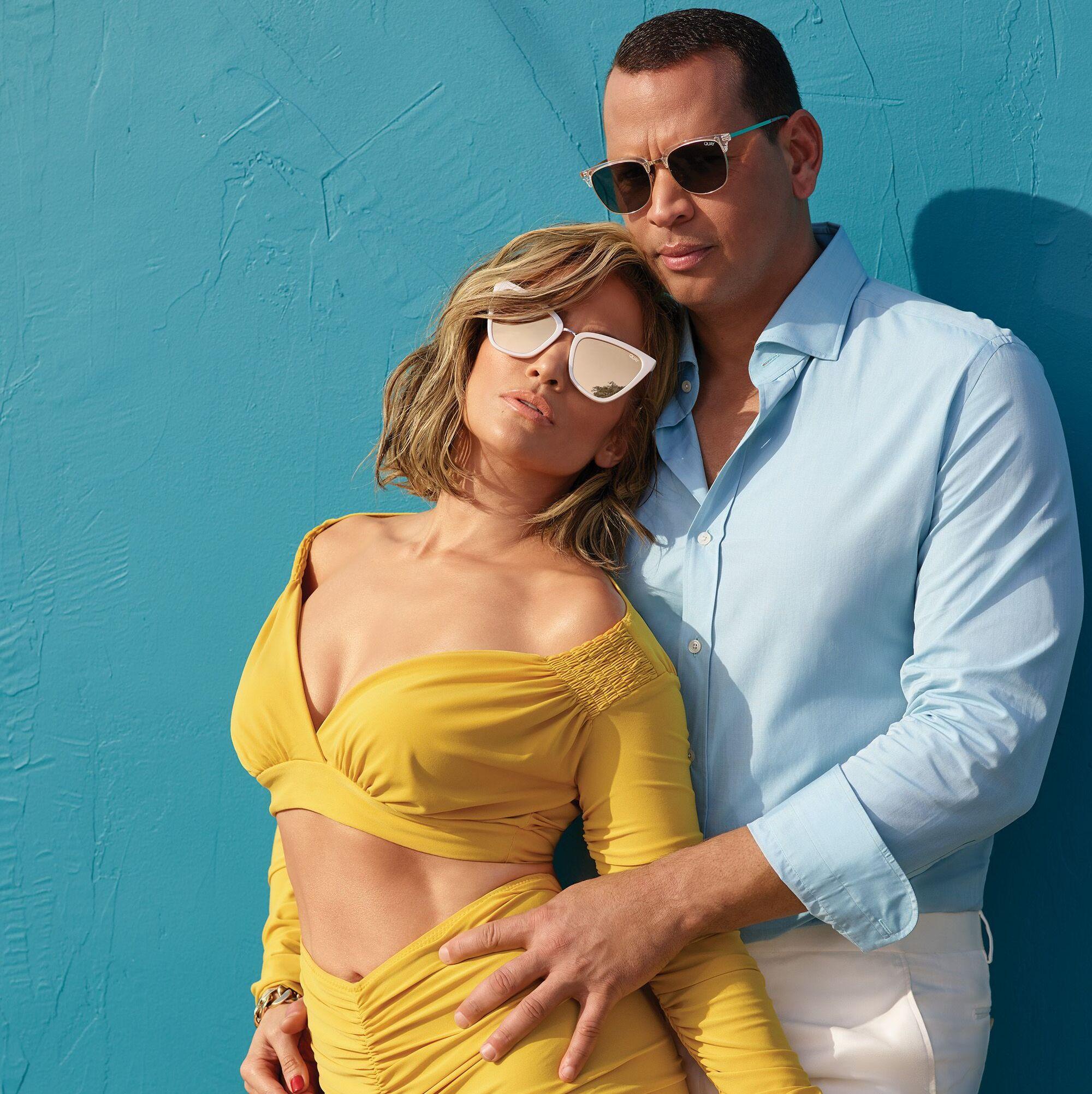 Jennifer Lopez and Alex Rodriguez's Sunglasses Campaign Is Stunning