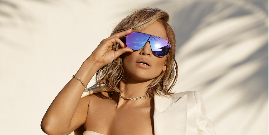 bae7098eb2 Jennifer Lopez on Sunglasses