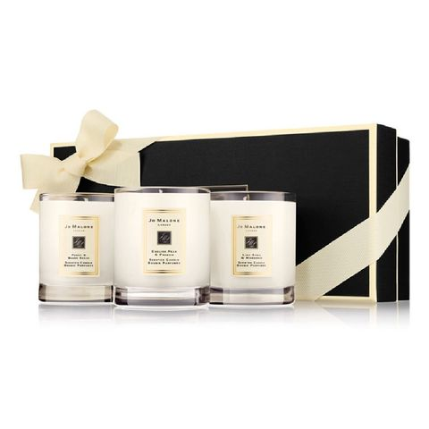 jo malone london travel candle collection set van 3 geparfumeerde kaarsen