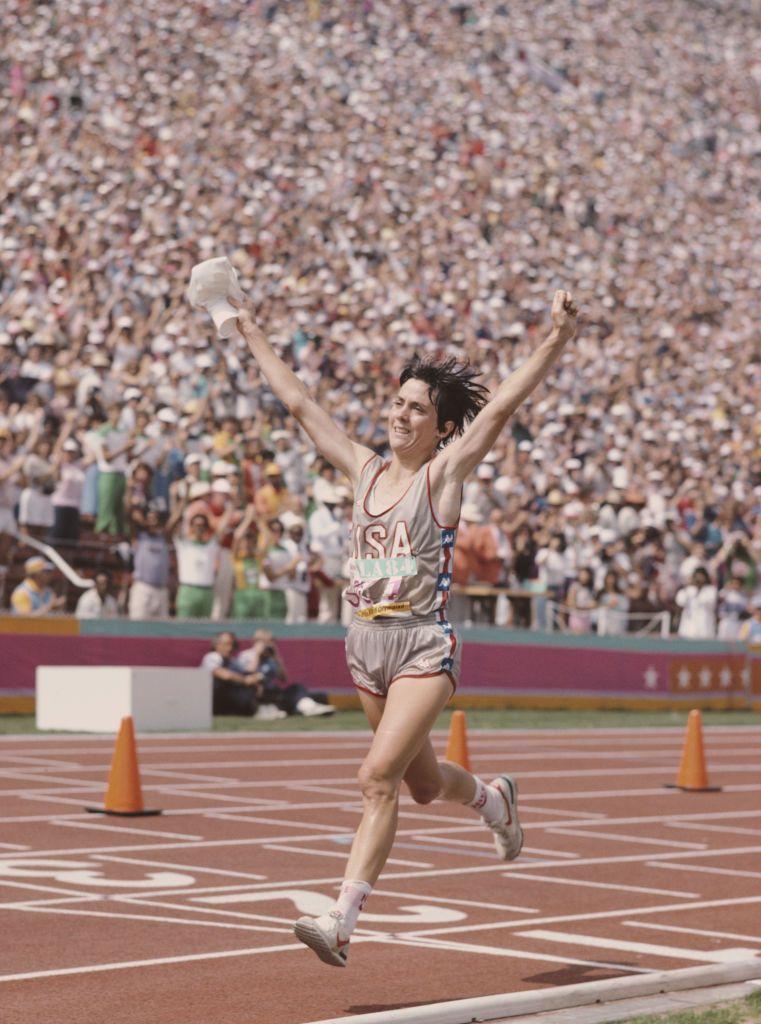 Looking Back at Joan Benoit Samuelson's Olympic Marathon Win