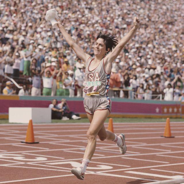 Joan Benoit Samuelson - 1984 Olympic Marathon Winner