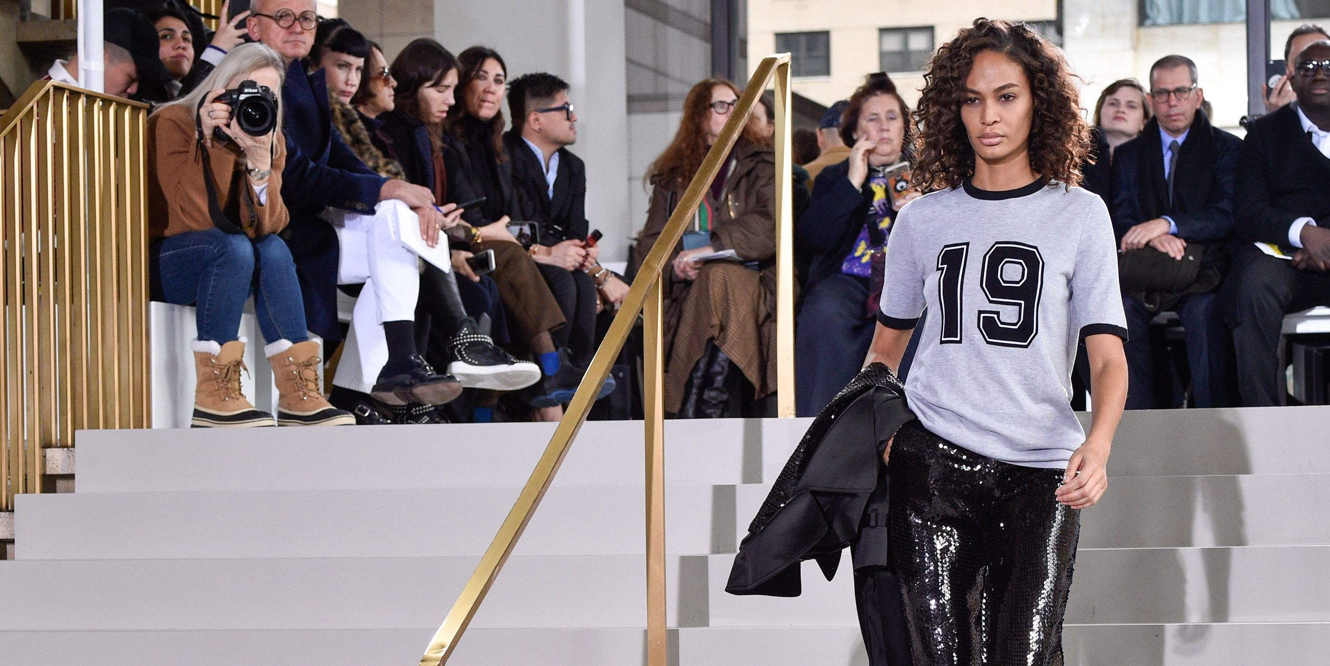Joan Smalls at Michael Kors