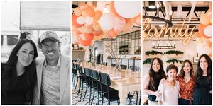 joanna gaines 40th birthday party