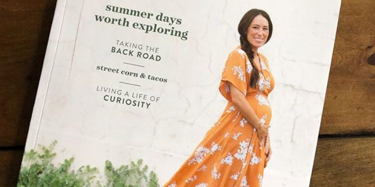 joanna gaines baby bump magazine cover - joanna gaines pregnant