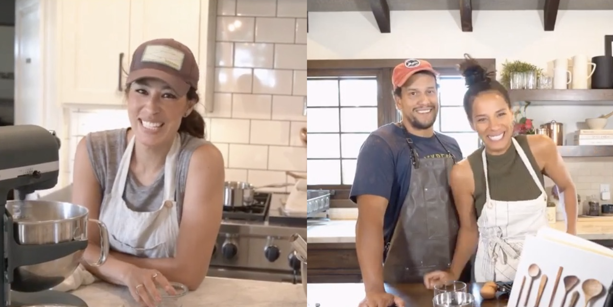 Joanna Gaines' Virtual Bake Off With Johnnyswim Is the Best Thing You'll Watch All Week