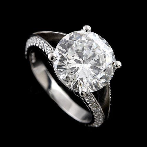 joanna gaines engagement ring - platinum diamond engagement ring