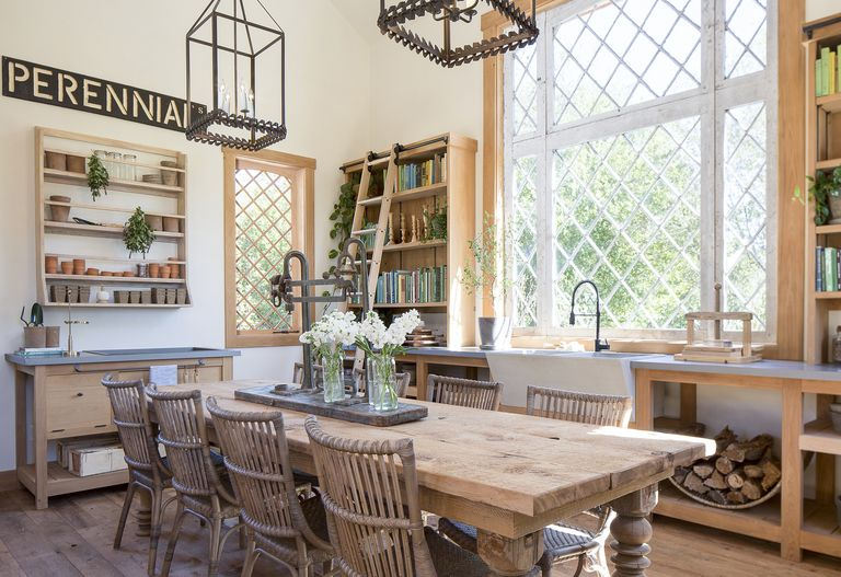 Hgtv Chip And Joanna Gaines Dining Room Decor