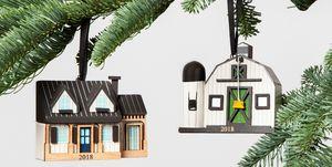 joanna gaines farmhouse christmas ornament