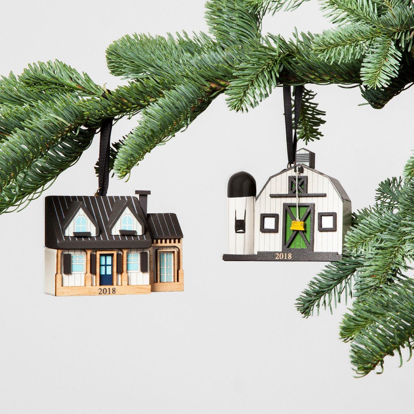 Joanna Gaines Turned Her Farmhouse Into A Christmas Ornament