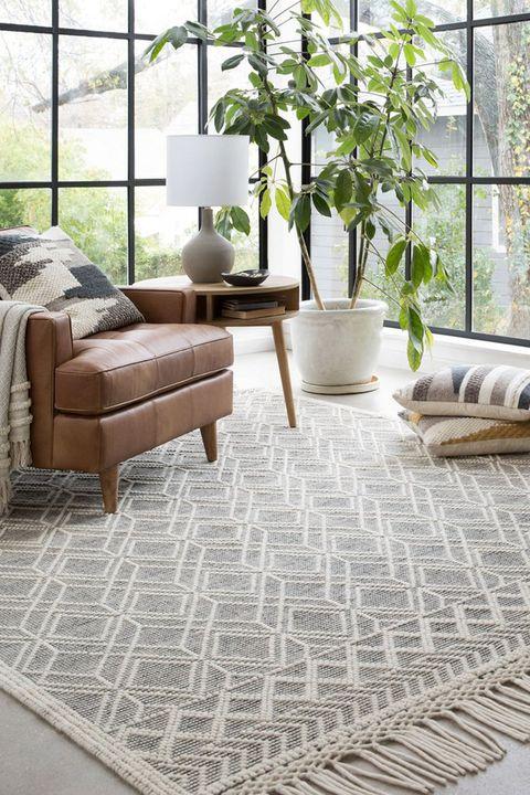 joanna gaines rug - Joanna Gaines Living Room