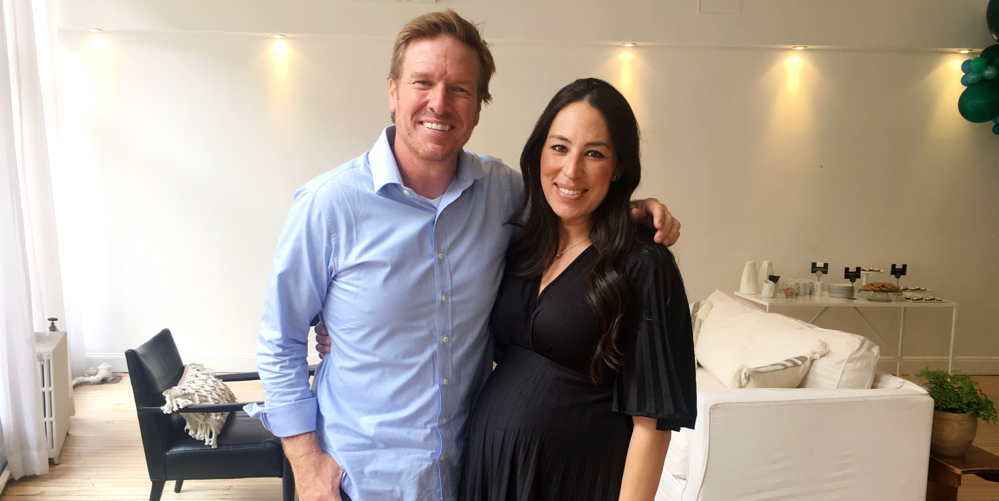 joanna gaines pregnancy reveal
