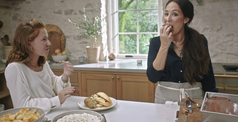 joanna gaines shared some super bowl recipes