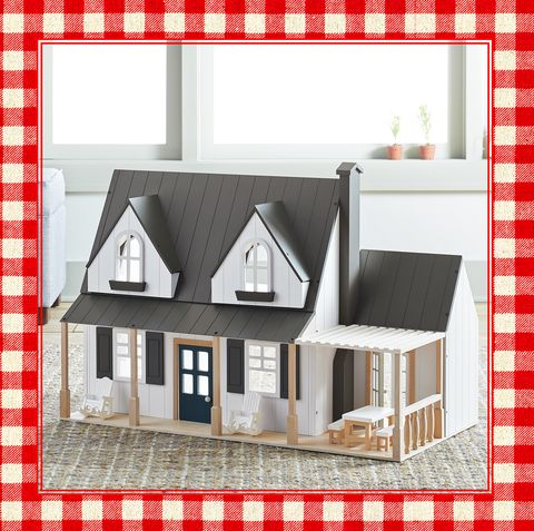 joanna gaines 39 toy dollhouse will be the best 2018 christmas gift at target. Black Bedroom Furniture Sets. Home Design Ideas