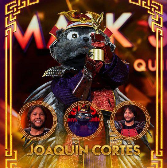 joaquín cortés  mask singer