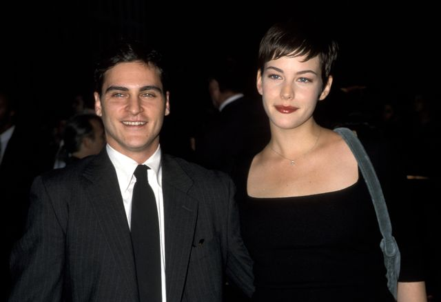 joaquin phoenix and liv tyler at the new york city premiere of clay pigeons  91798 photo by ron galellaron galella collection via getty images