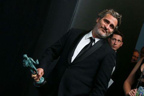 Joaquin Phoenix SAG Awards protesta maltrato animal