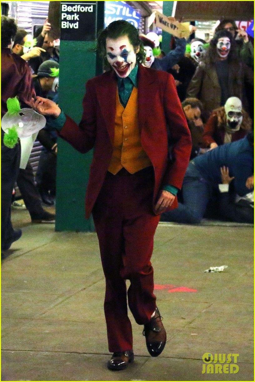 Estas son las pintas del Joker de Joaquin Phoenix (maquillaje incluido)