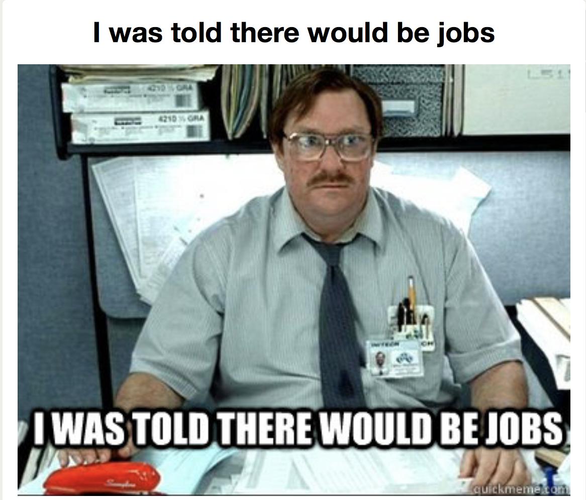 jobs graduation meme 1524165188?crop=1xw 1xh;centertop&resize=480 * 16 best graduation memes 2018 funny and relatable graduation memes