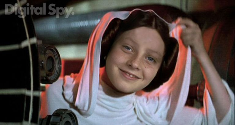 Princesa Leia: Jodie Foster star wars George Lucas