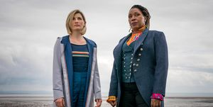 Jodie Whittaker, Jo Martin, Doctor Who