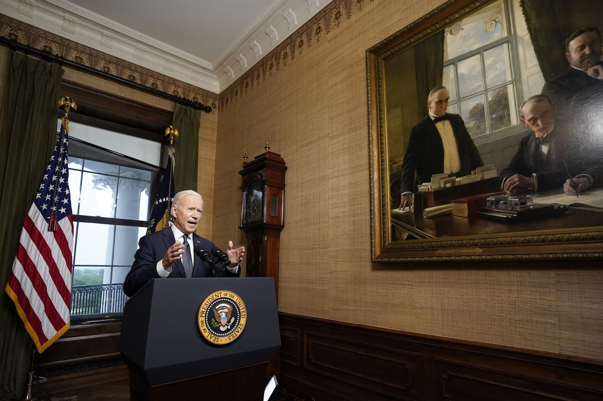Joe Biden's Dodge on Raising the Refugee Cap Shouldn't Really Be a Surprise