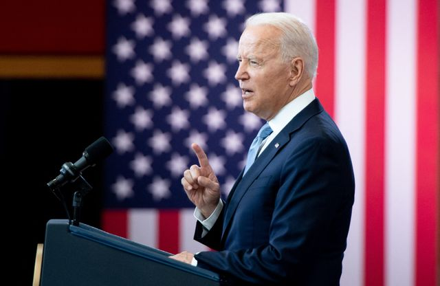 us president joe biden speaks about voting rights at the national constitution center in philadelphia, pennsylvania, july 13, 2021 photo by saul loeb  afp photo by saul loebafp via getty images