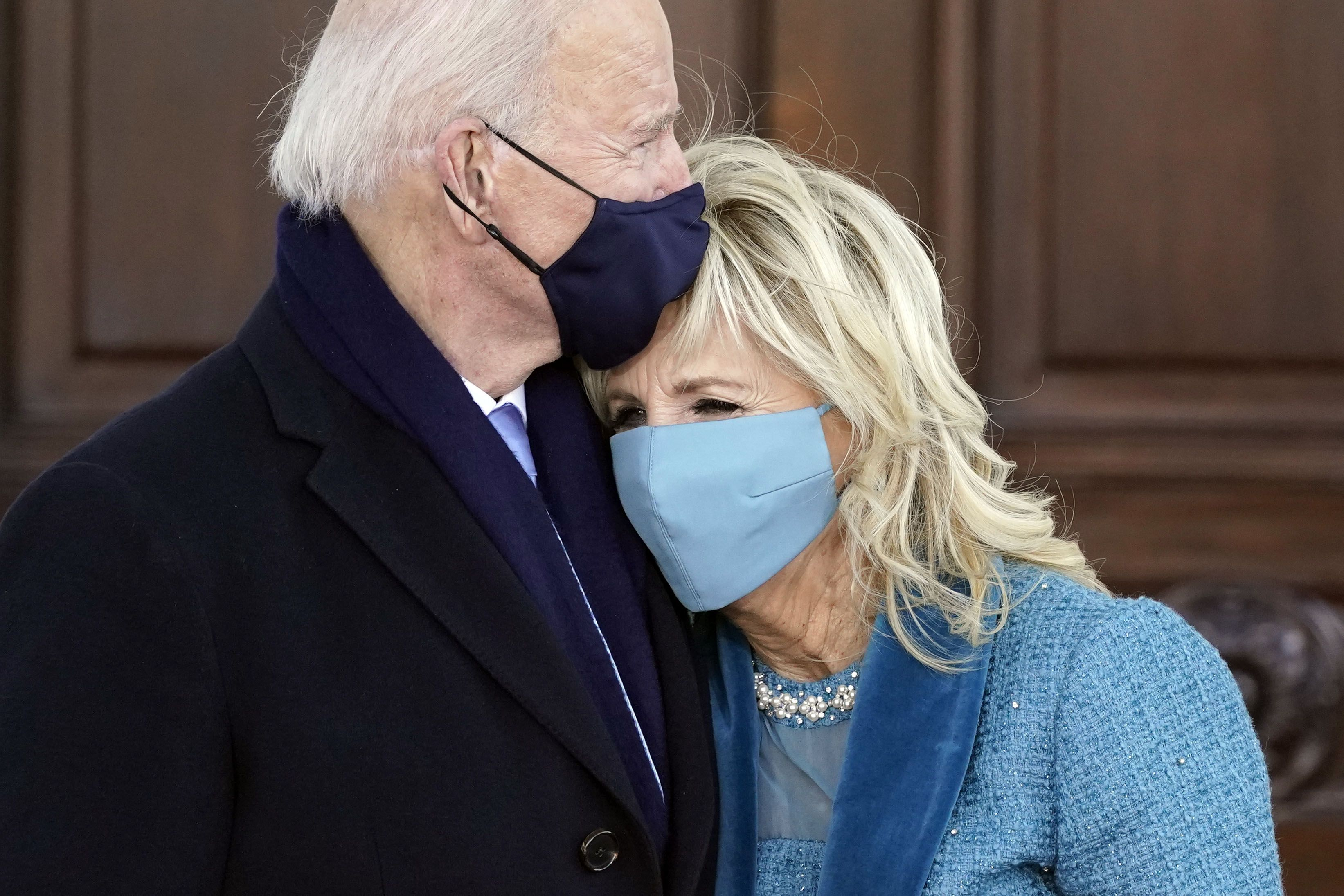 10 of Joe and Jill Biden's sweetest inauguration moments