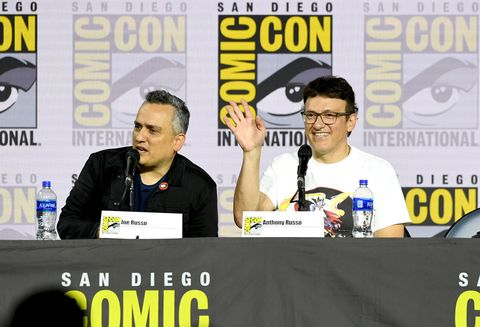 Joe Russo and Anthony Russo at San Diego Comic-Con 2019