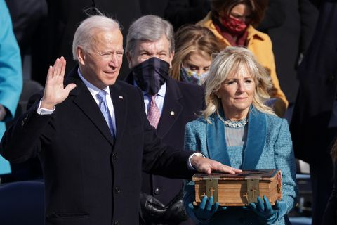 joe biden sworn in as 46th president of the united states at us capitol inauguration ceremony