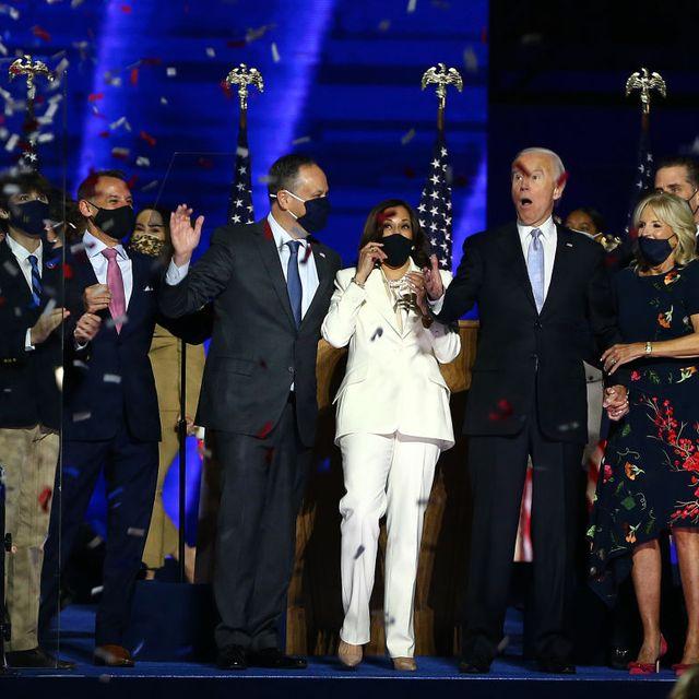 Celebrities React To Joe Biden And Kamala Harris Winning The Us Election