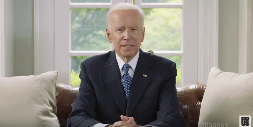 Joe Biden on the Threat to the Progress Made in the Fight Against Sexual Assault