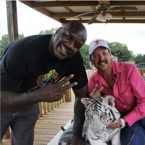 shaquille o'neal joe exotic tiger king