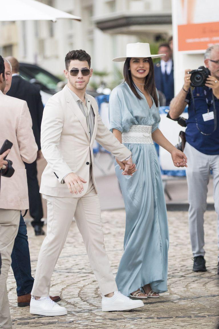 Nick Jonas and Priyanka Chopra in Cannes