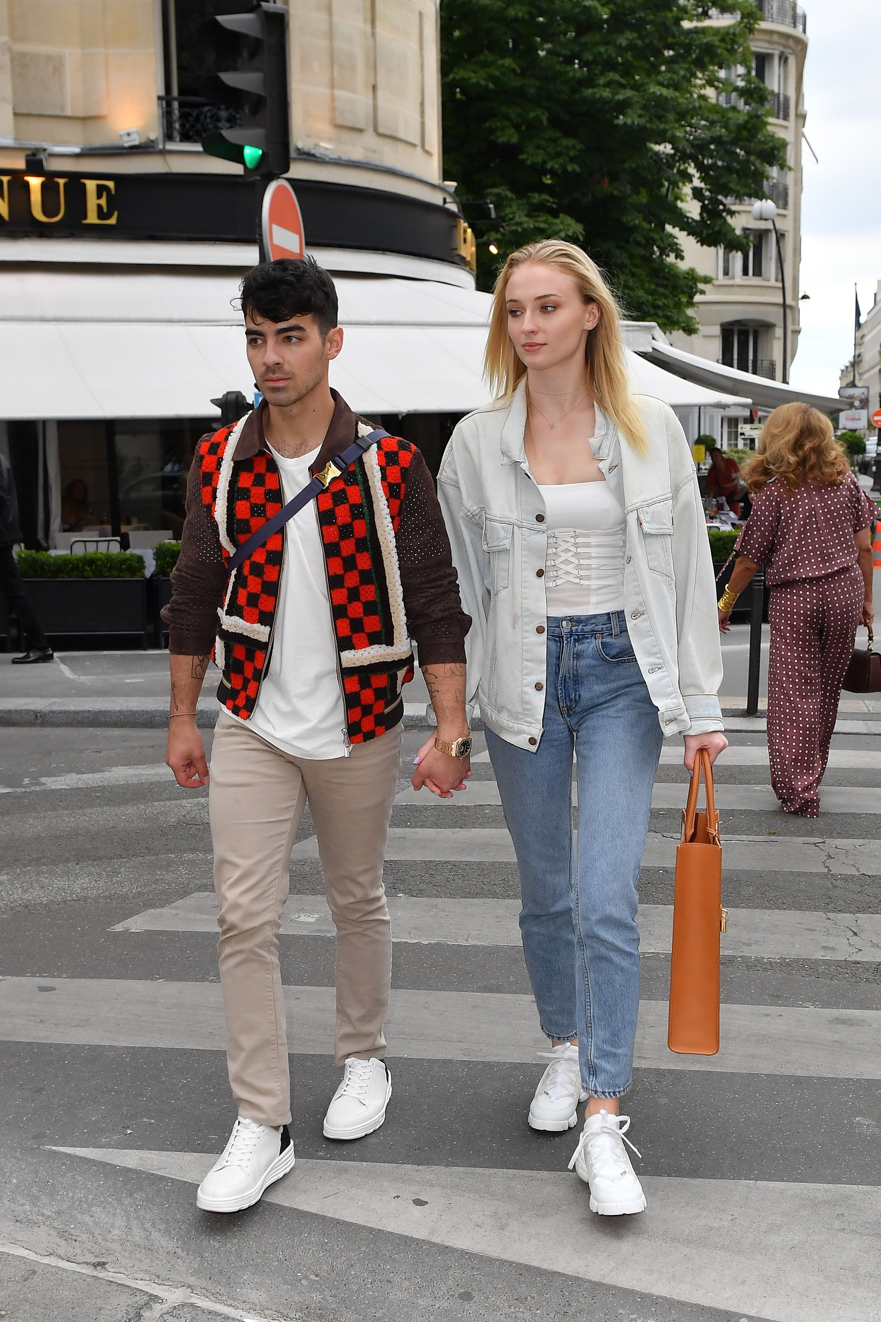 Joe Jonas and Sophie Turner Post Their French Kiss Ahead of Wedding