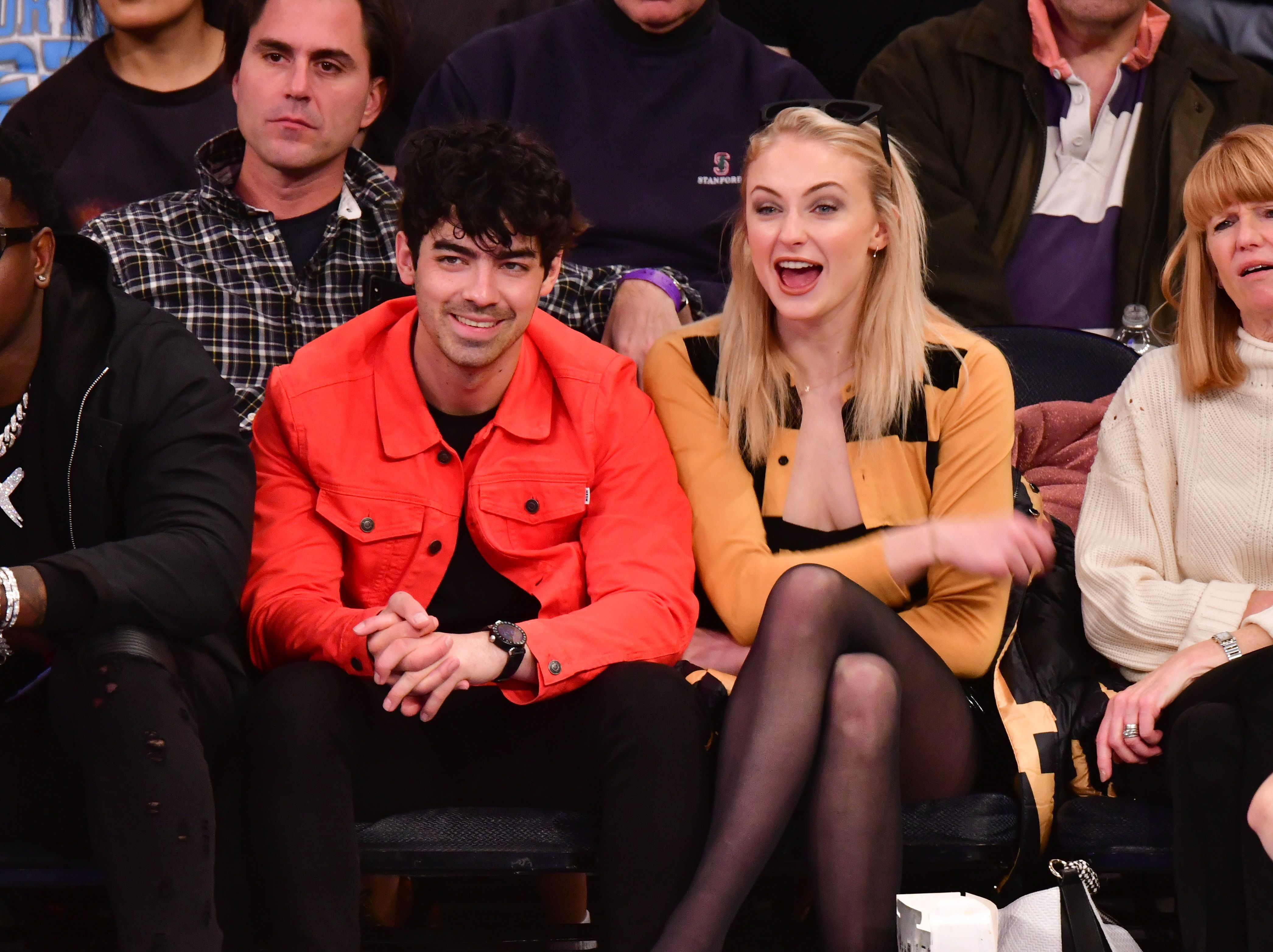 Sophie Turner and Joe Jonas Are One Affectionate Pair