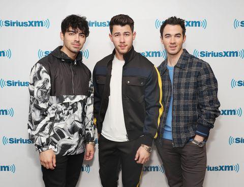 Jonas Brothers Visit The SiriusXM Studios In New York City