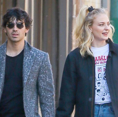 Joe Jonas y Sophie Turner protagonizan un romántico paseo por Nueva York